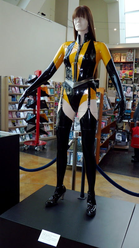 Silk Spectre II Watchmen costume worn by Malin Akerman