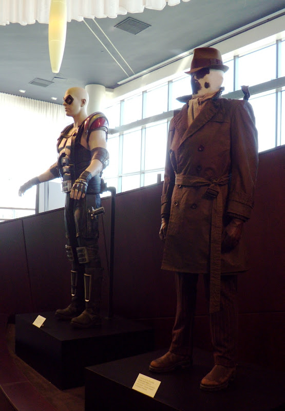 The Comedian and Rorschach Watchmen costumes