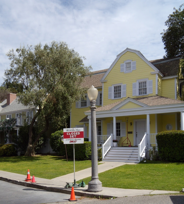 Desperate Housewives Wisteria Lane TV set Universal Studios