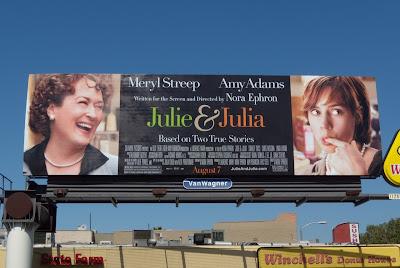 Julie & Julia movie billboard