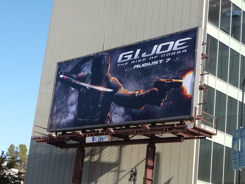 GI Joe Rise of Cobra movie billboard