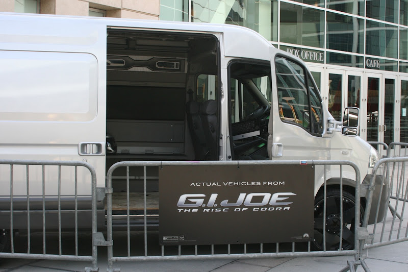 GI Joe actual movie vehicle
