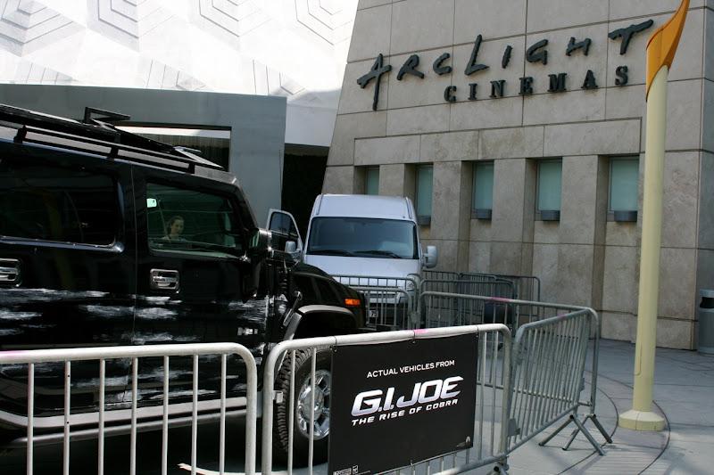 Original GI Joe movie vehicles