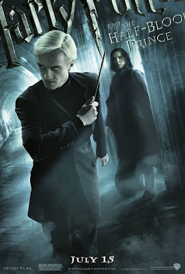 Draco Malfoy and Professor Snape Harry Potter 6 poster