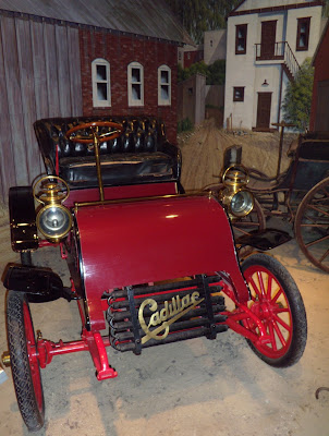1903 Model A Cadillac at Petersen Museum