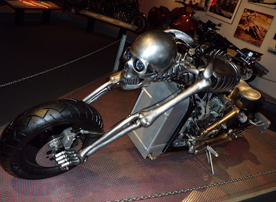 Skeleton Bike 2006 at Petersen Auto Museum