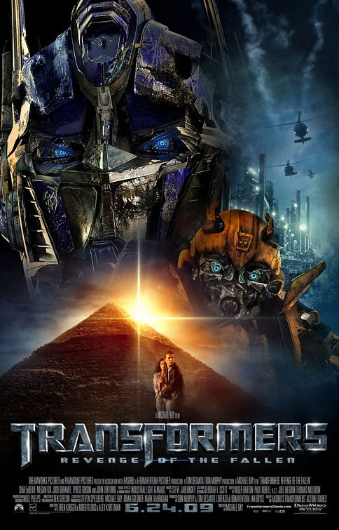 Transformers 2 film poster