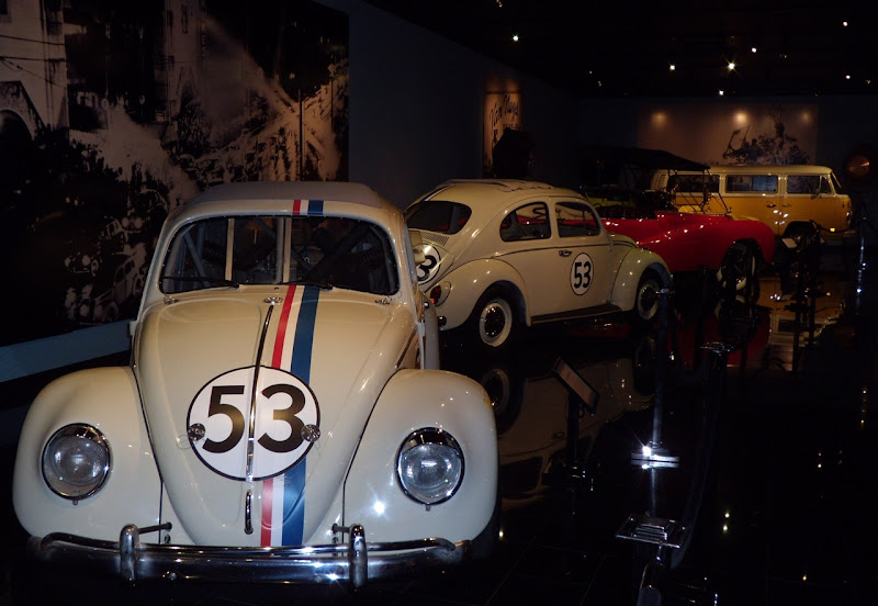 Disney Herbie movie VW Beetles