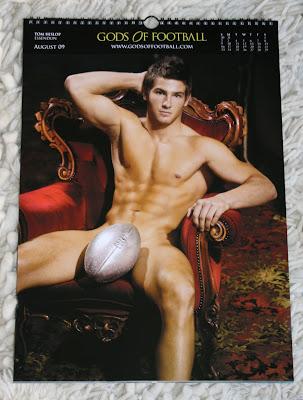 Tim Hislop Football God male model