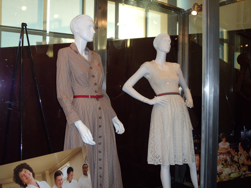 ArcLight Sherman Oaks cinema Julie & Julia costume display