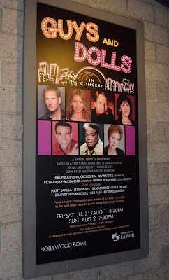 Guys and Dolls Hollywood Bowl poster