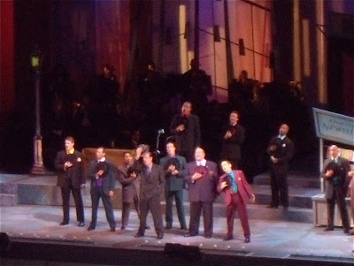 Guys and Dolls Hollywood Bowl male cast