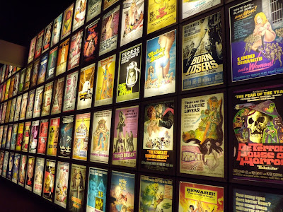 Pulp film poster display