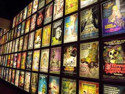 Pulp film poster display