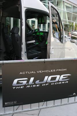 Actual GI Joe movie van