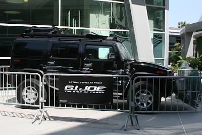 GI Joe The Rise of Cobra Scarab movie vehicle