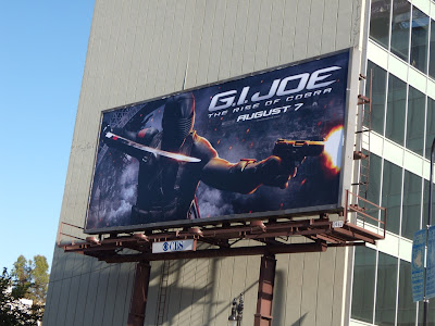GI Joe Rise of Cobra film billboard