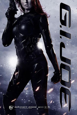 GI Joe Agent Scarlett movie poster