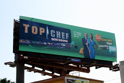 Top CHef Las Vegas TV billboard
