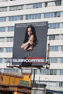 Surrogates film billboard