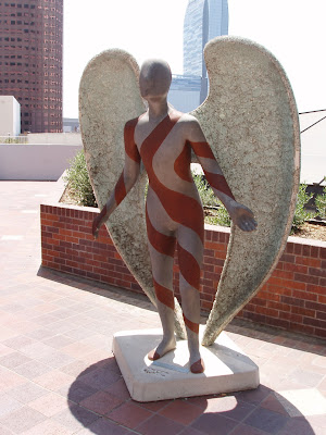Raul R. Rodriguez, Angel of Life, Los Angeles Central Library. A ...