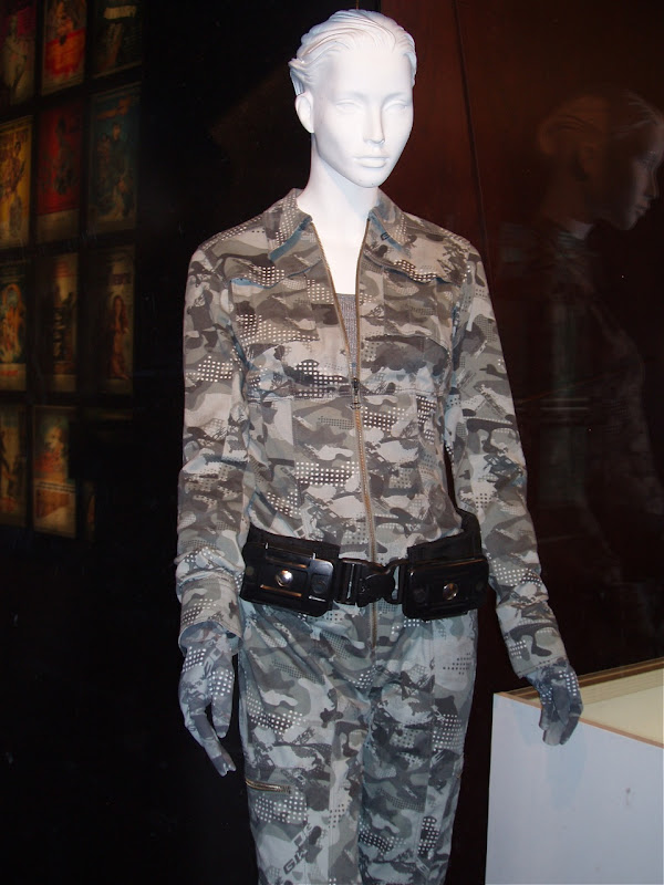 GI Joe Agent Scarlett camouflage uniform