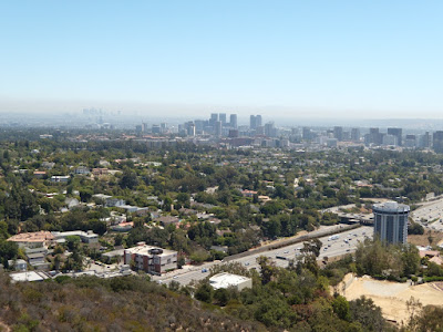 View of LA from The Getty Center
