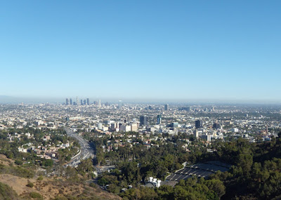 Los Angeles sprawl in summer