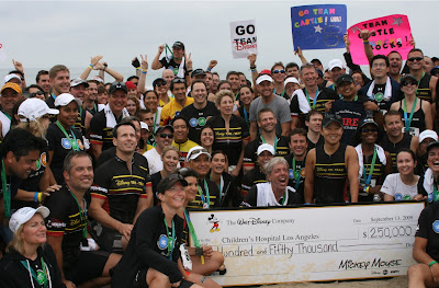 Disney Malibu Triathlon team