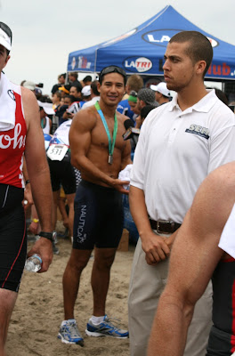 Mario Lopez after Malibu Triathlon