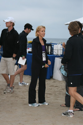 Celebrity Felicity Huffman at Malibu Triathlon