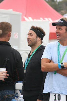 Jeremy Piven after Malibu Triathlon