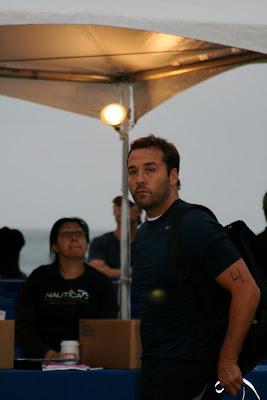 Jeremy Piven Malibu Triathlon 2009