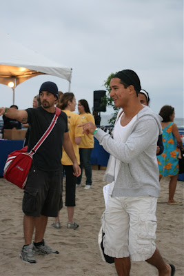 Mario Lopez before Malibu Triathlon