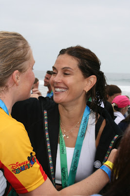 Teri Hatcher part of Disney Malibu Triathlon team