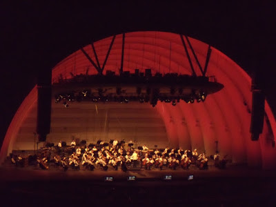 John Williams conducts at the Hollywood Bowl