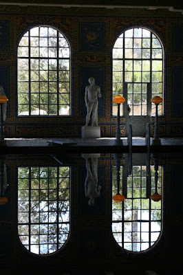 The indoor Roman Pool Hearst Castle