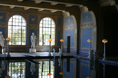 Hearst Castle tiled Roman Pool