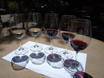 Georis wine tasting Carmel