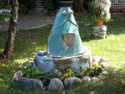 Toby Heller Frog Prince sculpture