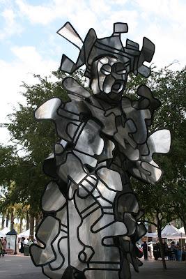 Jean Dubuffet's La Chiffoniere sculpture