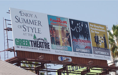 Greek Theatre Pet Shop Boys billboard