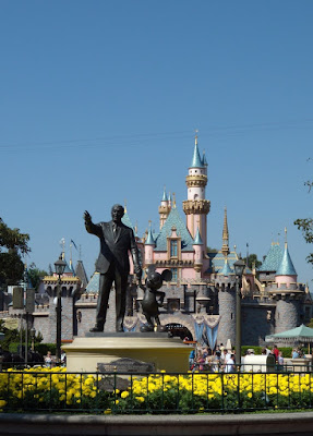 Central Plaza at Disneyland
