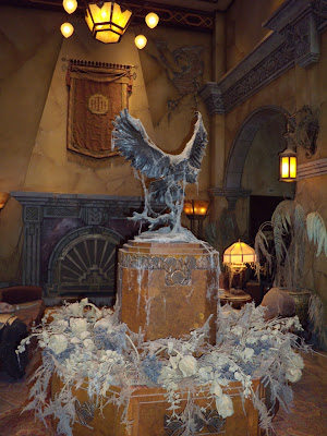 Tower of Terror hotel lobby Disneyland