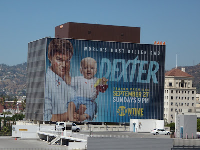 Dexter season 4 TV billboard