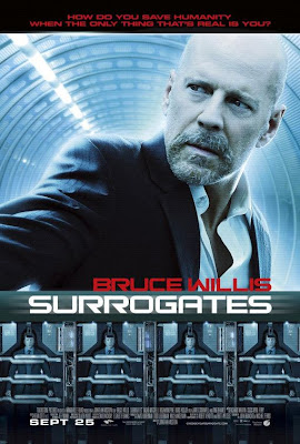 Bruce Willis Surrogates movie poster
