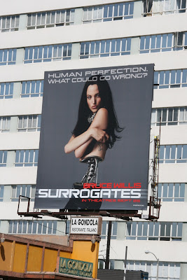 Surrogates film billboard