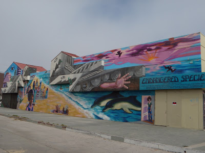 Endangered Species mural Venice Beach