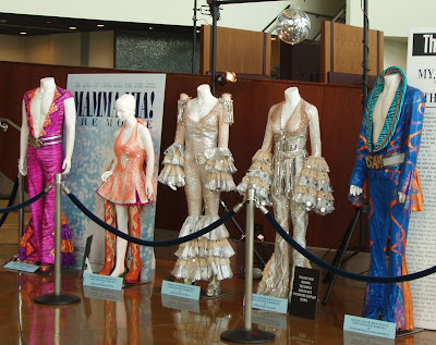 Mamma Mia movie costumes from dance finale