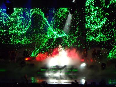 Kylie Hollywood Bowl lighthshow
